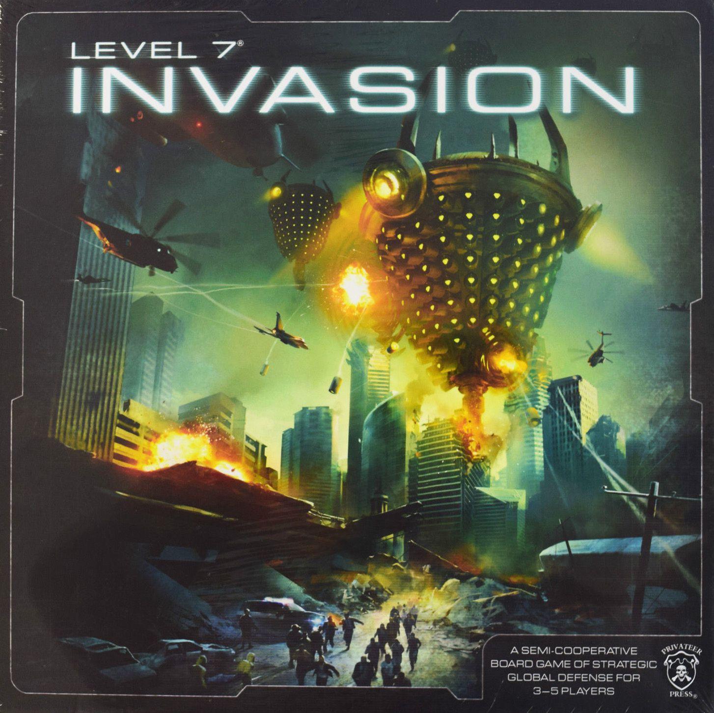настольная игра Level 7 [Invasion] Уровень 7 [Вторжение]
