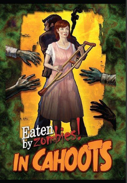 настольная игра Eaten By Zombies!: In Cahoots Съел зомби !: в сговоре