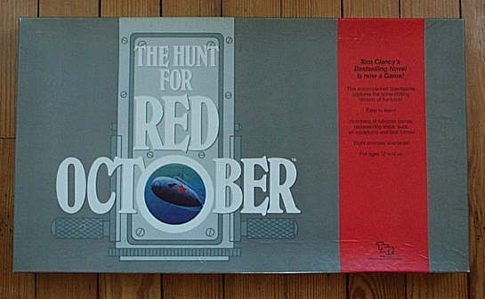 настольная игра The Hunt for Red October Охота на Красный Октябрь