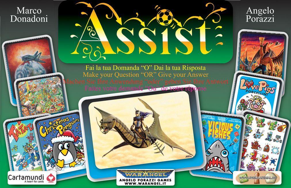 настольная игра Assist Помощь