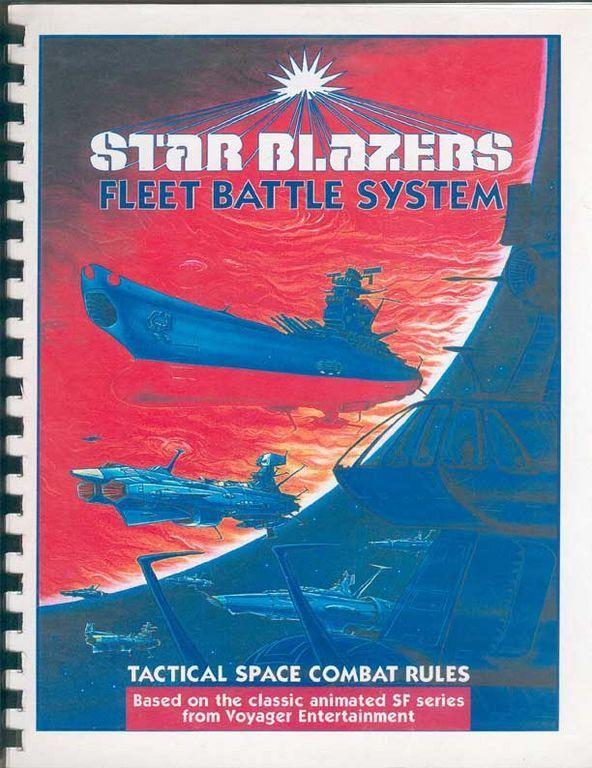 настольная игра Star Blazers Fleet Battle System Боевая система флота Star Blazers