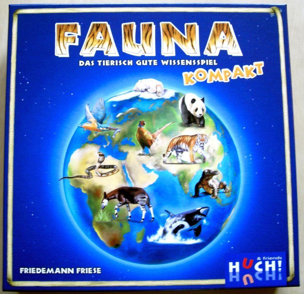 настольная игра Fauna Kompakt Фауна Компакт