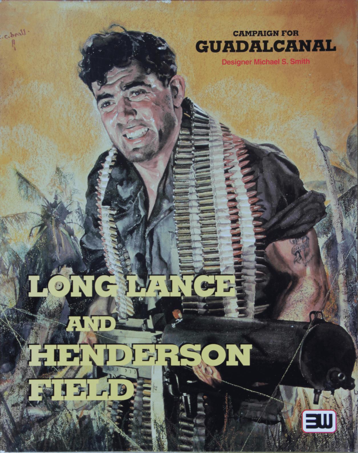 настольная игра Campaign for Guadalcanal: Long Lance & Henderson Field Кампания за Гуадалканал: Длинное копье и Хендерсон-Филд