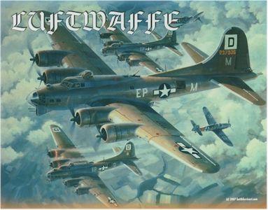 настольная игра Luftwaffe: Aerial Combat – Germany 1943-45 Люфтваффе: Воздушный бой - Германия 1943-45