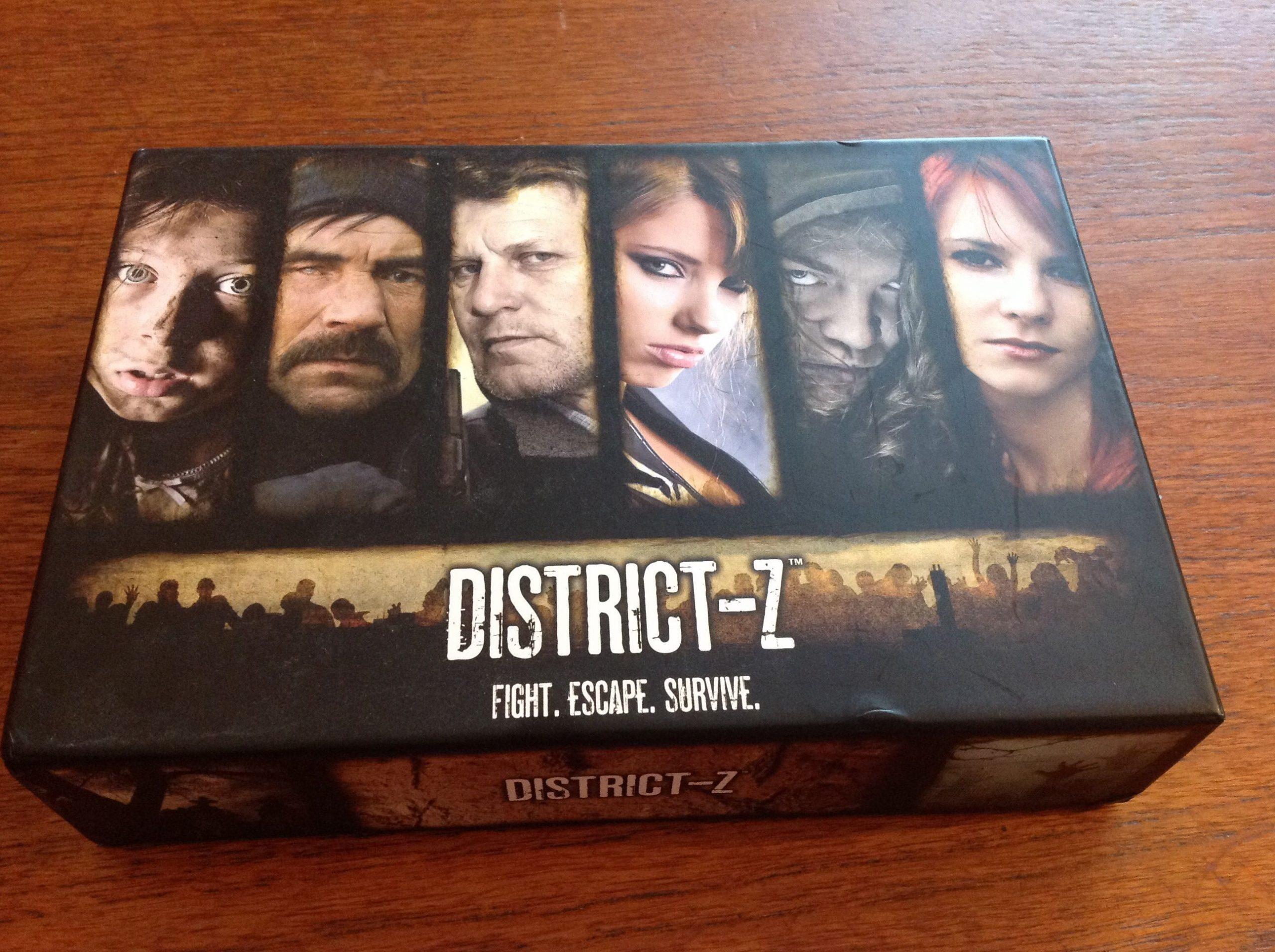 настольная игра District-Z Район-Z
