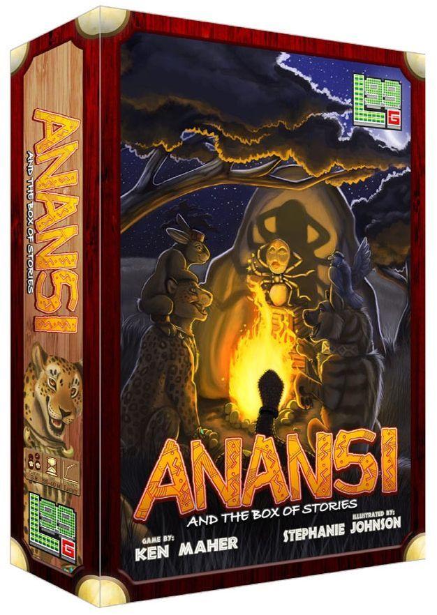 настольная игра Anansi and the Box of Stories Ананси и Коробка историй