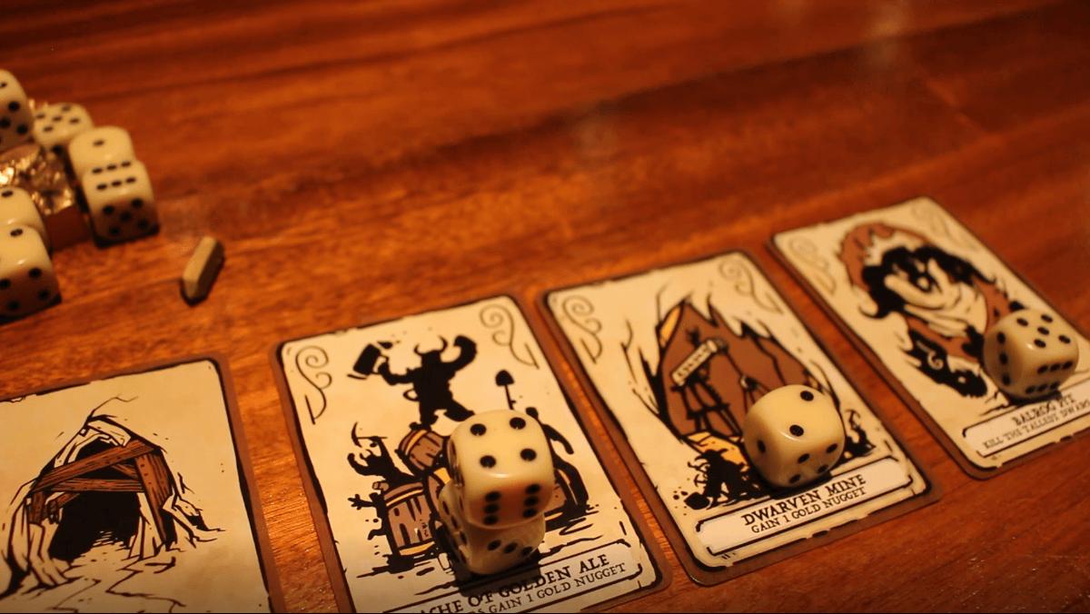 настольная игра Dwarves: Dig, Delve, Die Гномы: копать, копать, умереть