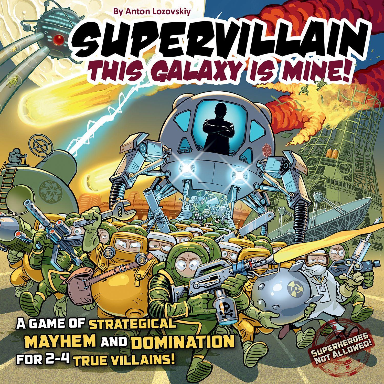 настольная игра Supervillain: This Galaxy Is Mine! Суперзлодей: эта галактика - моя!