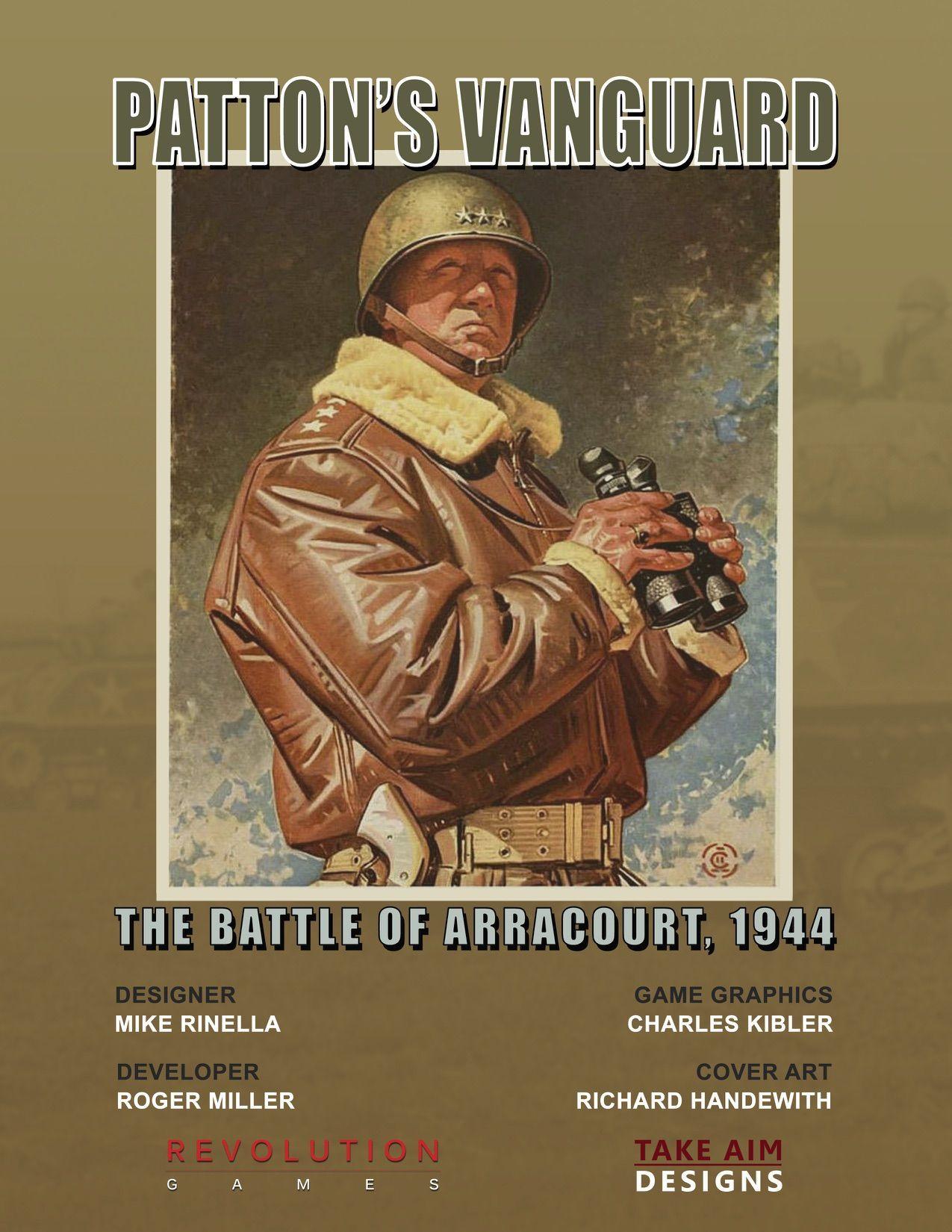 настольная игра Patton's Vanguard Авангард Паттона