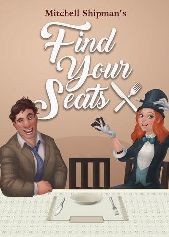 настольная игра Find Your Seats Найдите свои места
