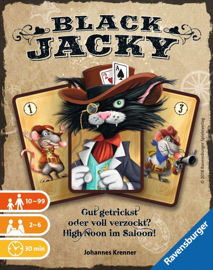 настольная игра Black Jacky Блэк Джеки