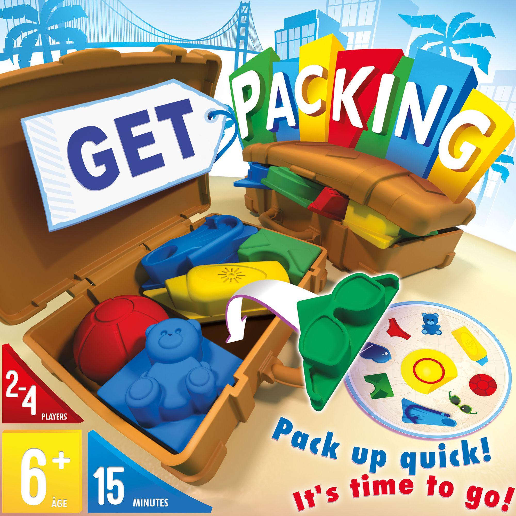 настольная игра Get Packing Получить упаковку