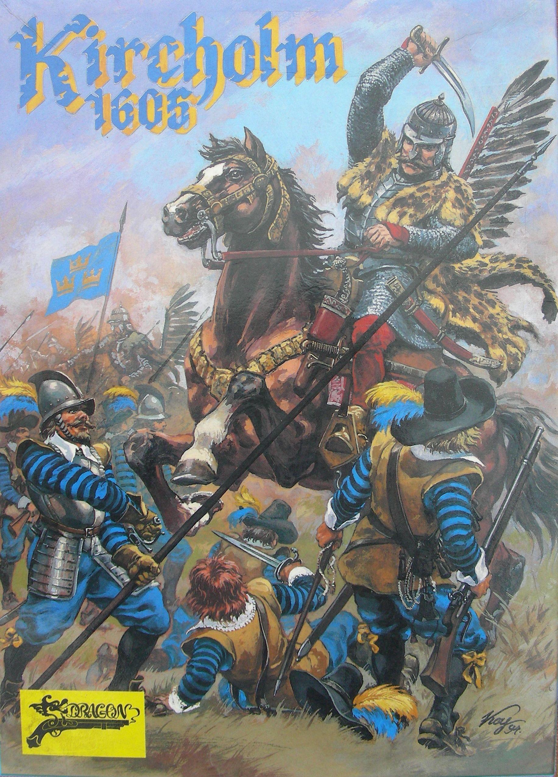 настольная игра Kircholm 1605 Кирхольм 1605