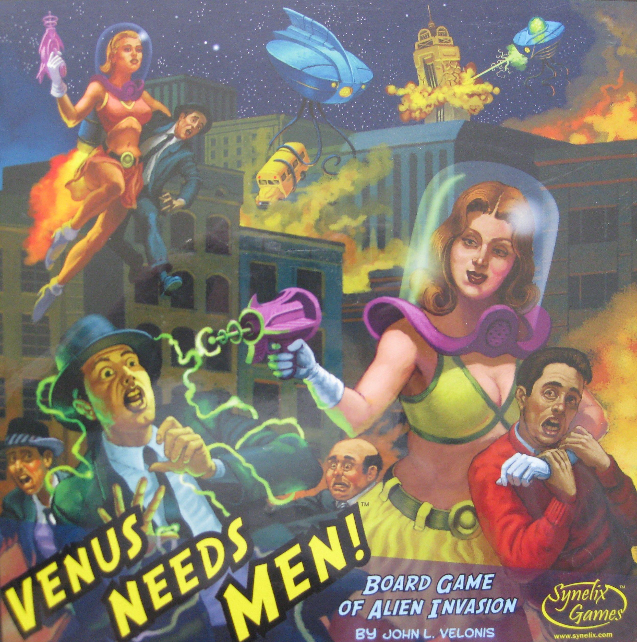 настольная игра Venus Needs Men Венере нужны мужчины