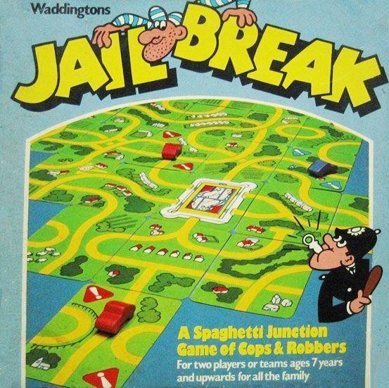 настольная игра Jailbreak Побег из тюрьмы