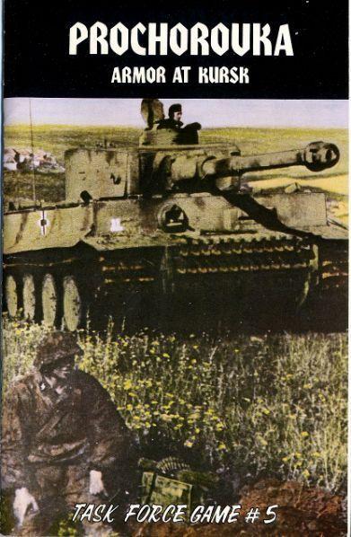 настольная игра Prochorovka: Armor at Kursk Прохоровка: Броня на Курске