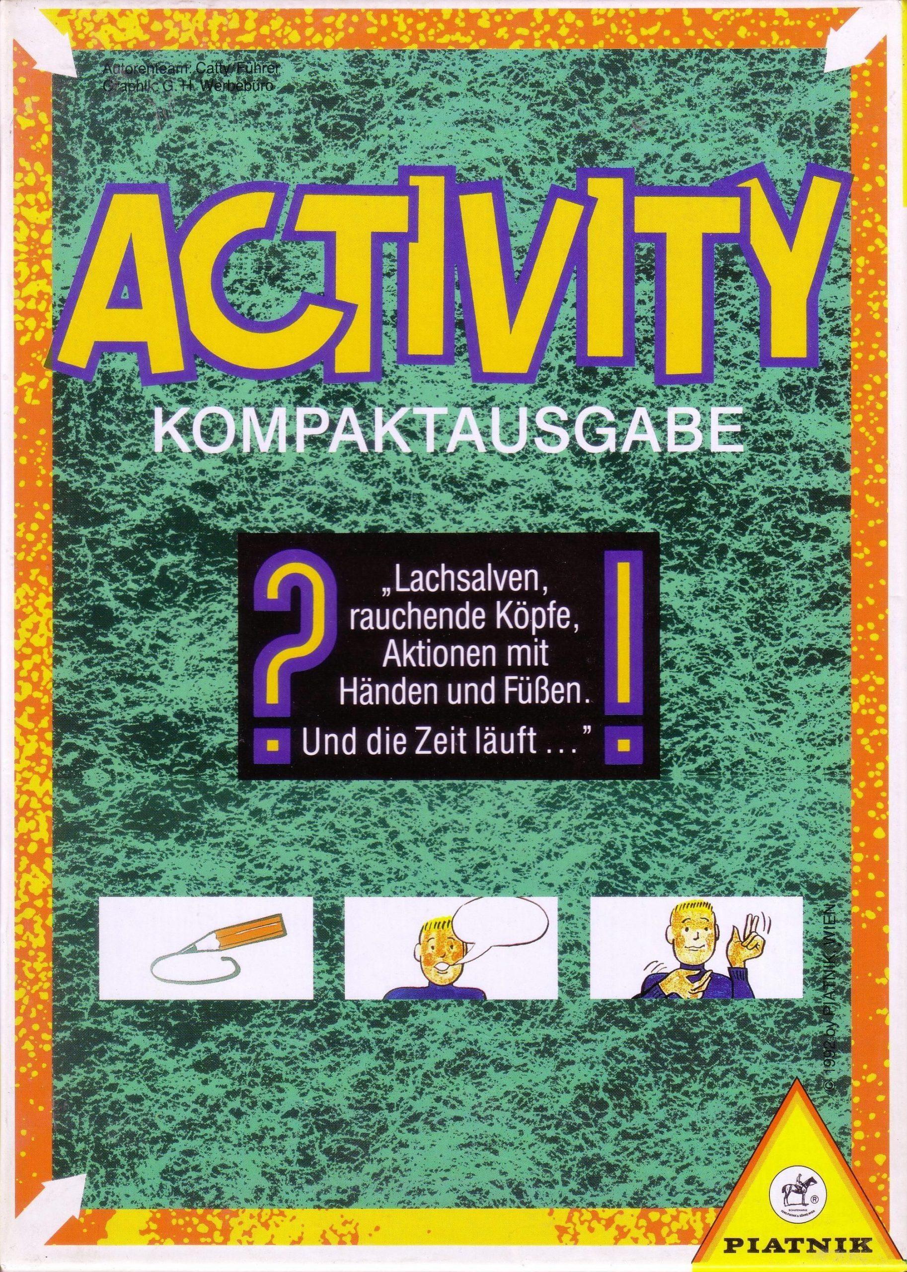 настольная игра Activity kompakt Деятельность kompakt
