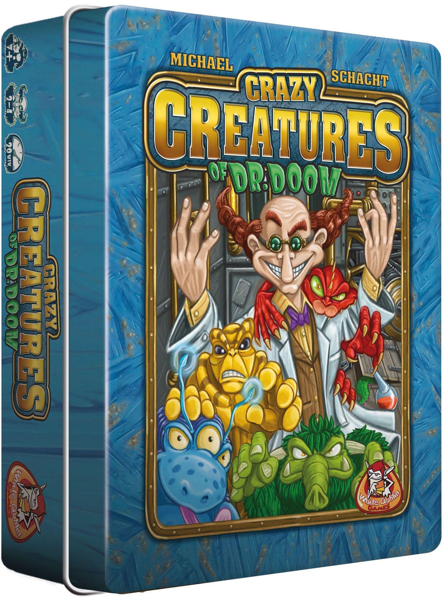 настольная игра Crazy Creatures of Dr. Doom Безумные создания доктора Дума