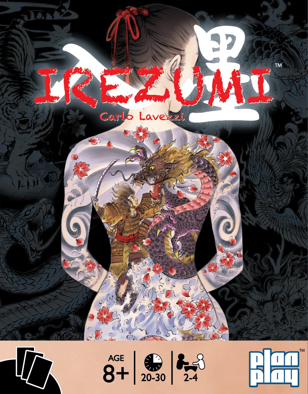 настольная игра Irezumi Иредзуми