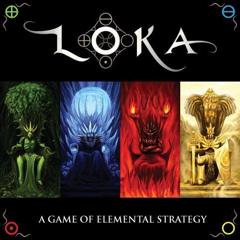 настольная игра LOKA: A Game of Elemental Strategy LOKA: Игра элементарной стратегии