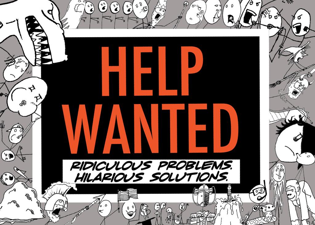 настольная игра Help Wanted Требуется помощь