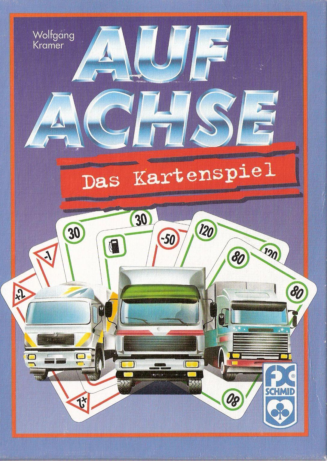 настольная игра Auf Achse: Das Kartenspiel