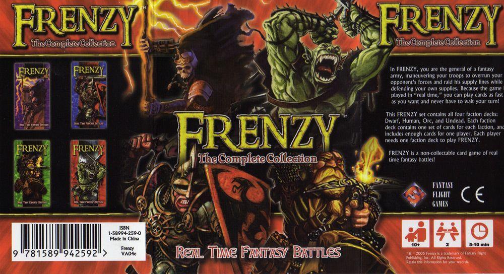 настольная игра Frenzy Безумие