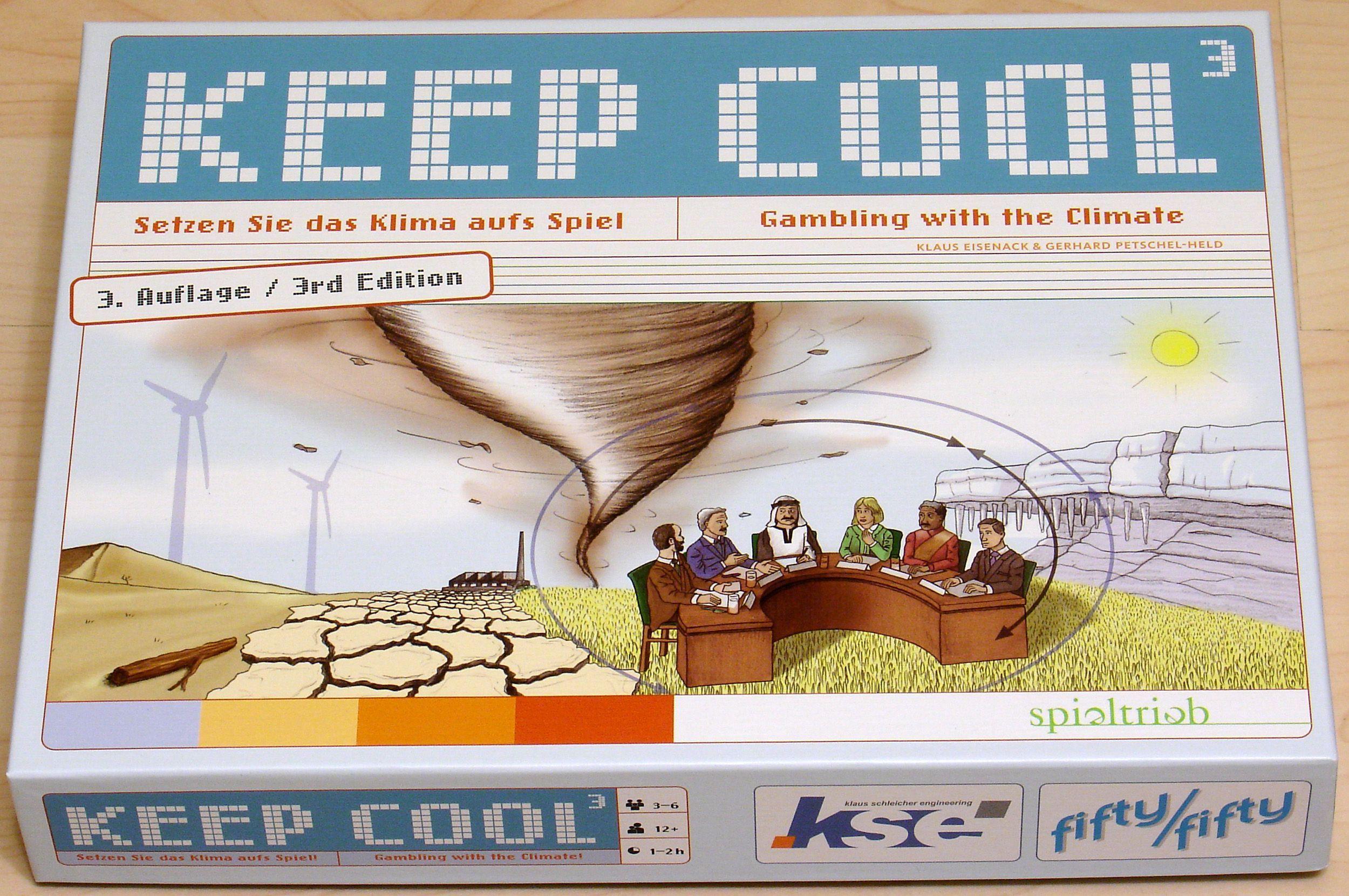 настольная игра Keep Cool Сохранять хладнокровие