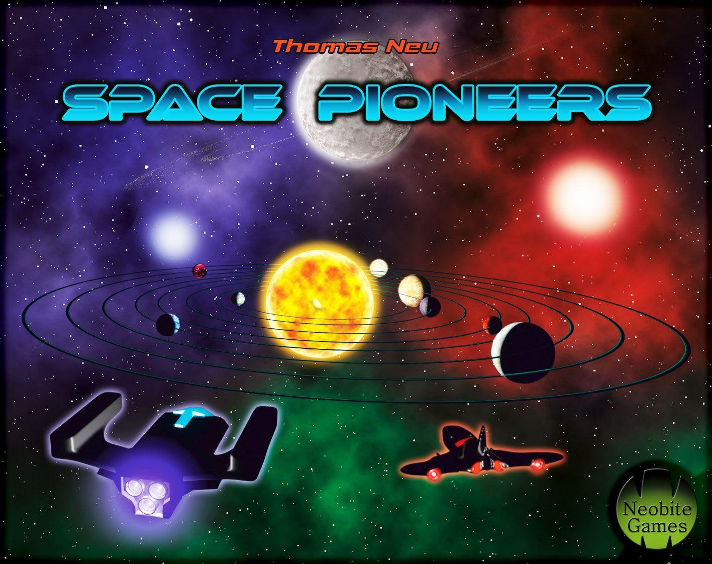 настольная игра Space Pioneers Космические пионеры