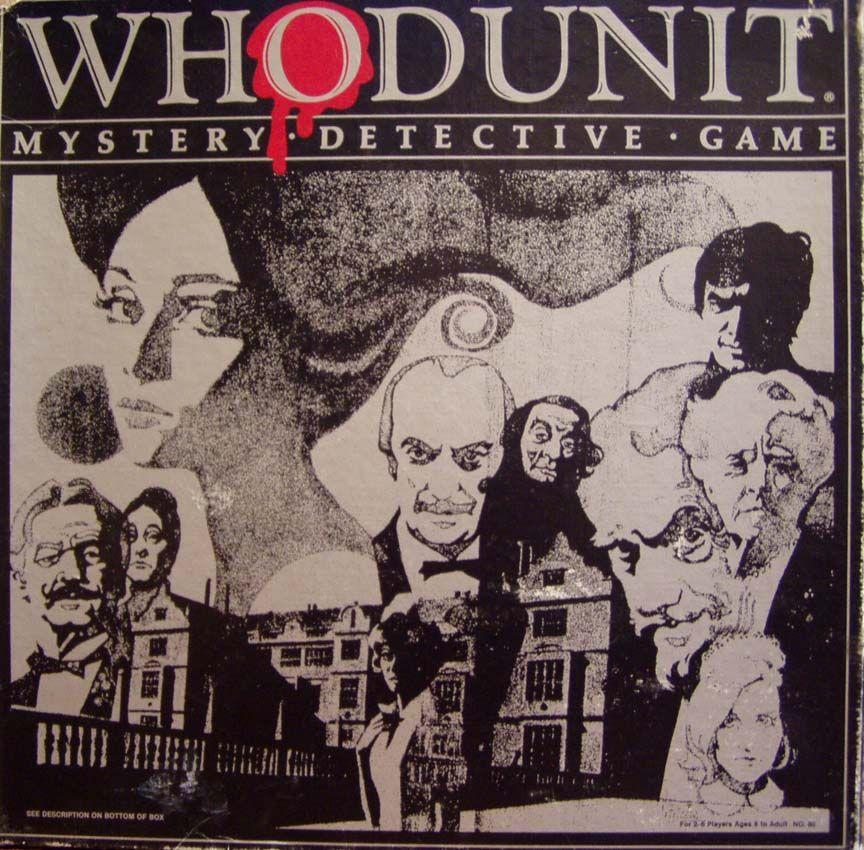 настольная игра Whodunit