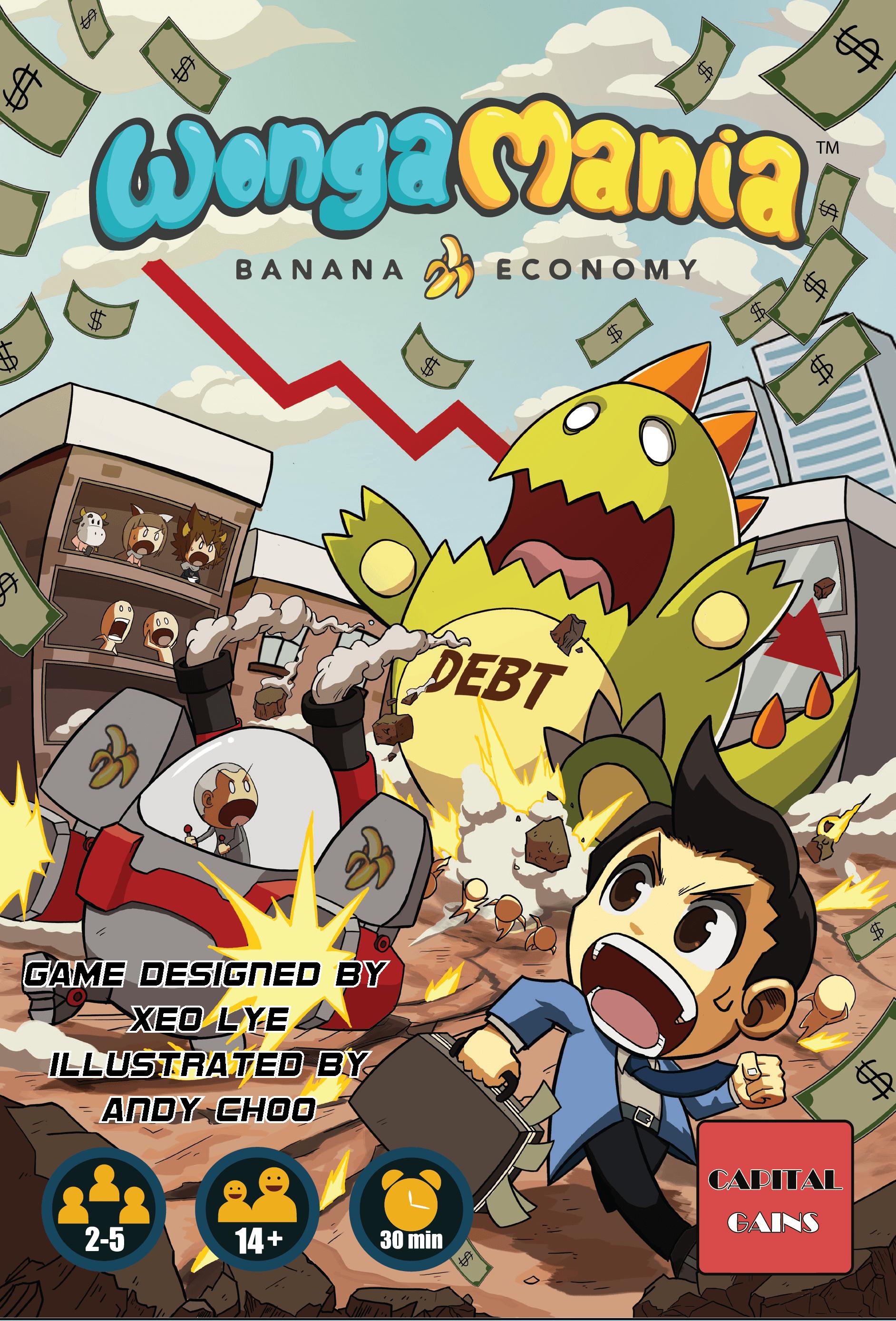 настольная игра Wongamania: Banana Economy Вонгамания: банановая экономика