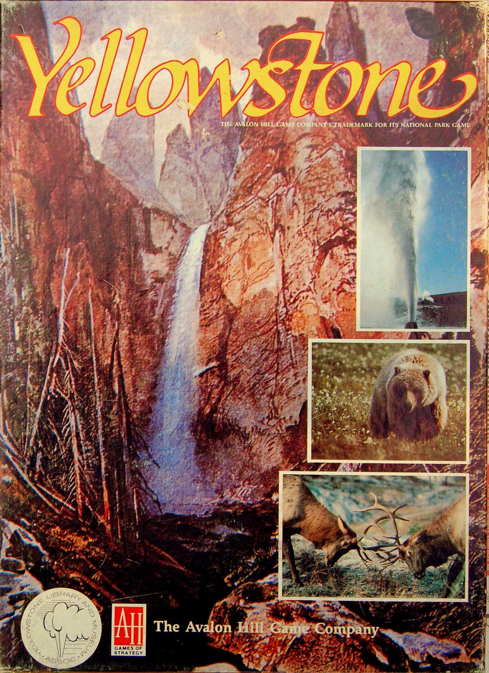 настольная игра Yellowstone Йеллоустон