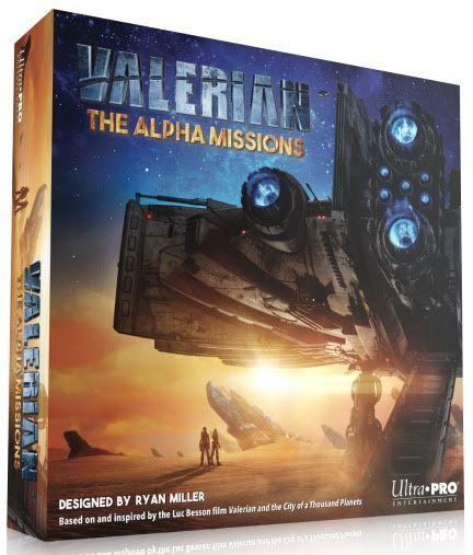 настольная игра Valerian: The Alpha Missions Валериан: Миссии Альфа