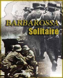 настольная игра Barbarossa Solitaire Пасьянс Барбаросса