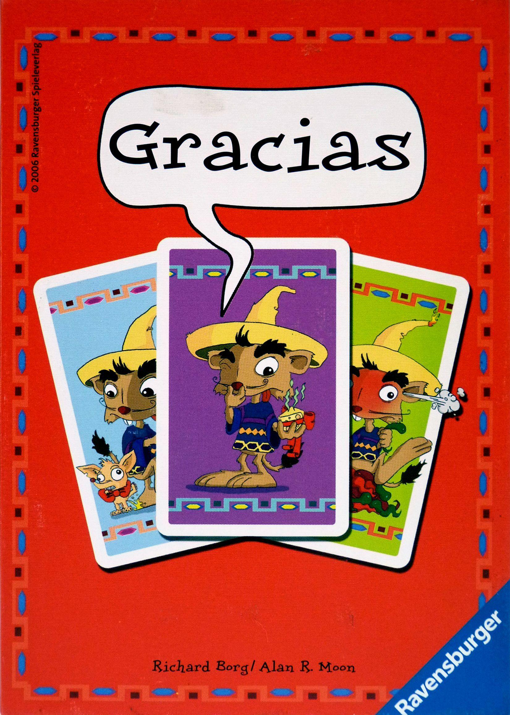 настольная игра Gracias Грасиас