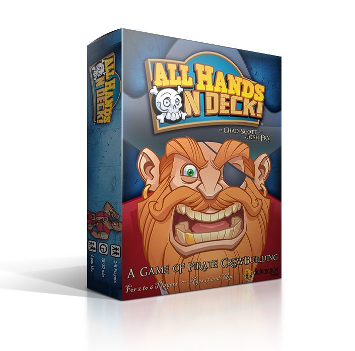 настольная игра All Hands on Deck! Все руки на палубу!