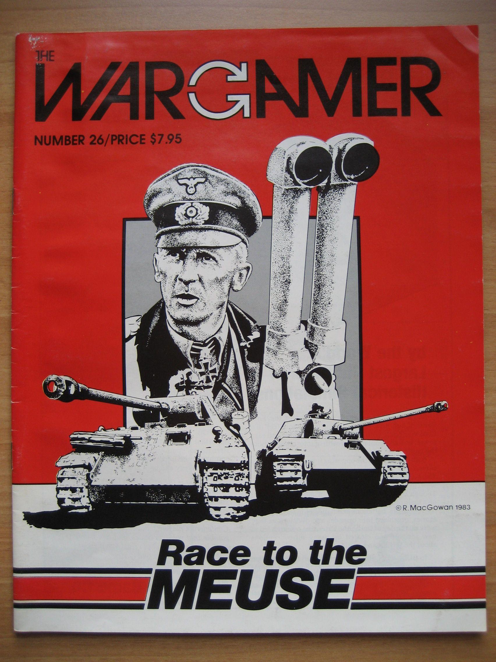 настольная игра Race to the Meuse Гонка к Маасу
