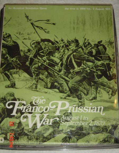 настольная игра The Franco-Prussian War Франко-прусская война