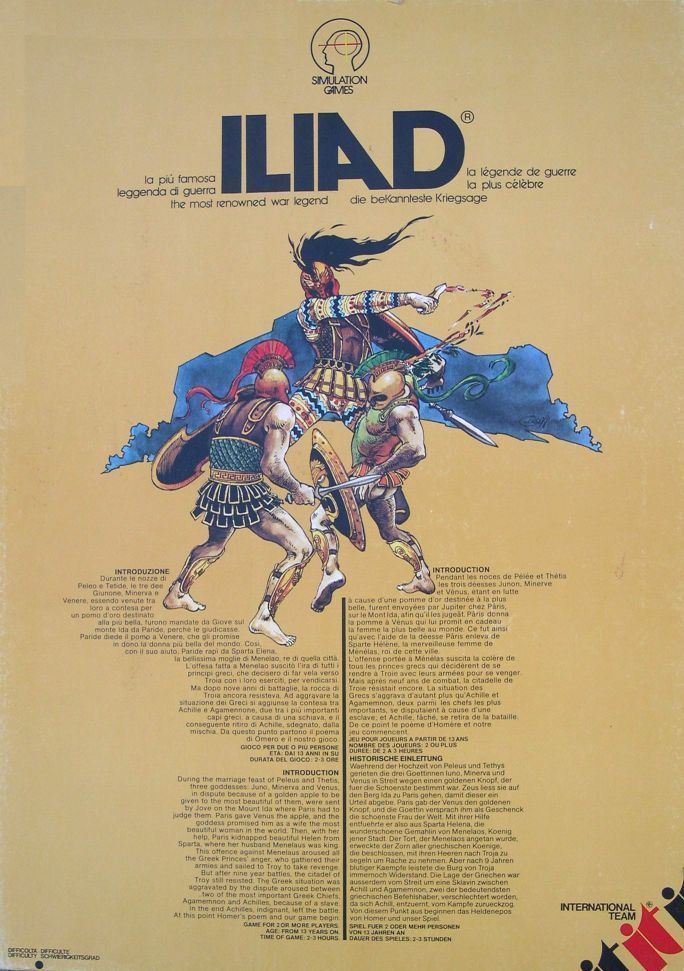 настольная игра Iliad Илиада