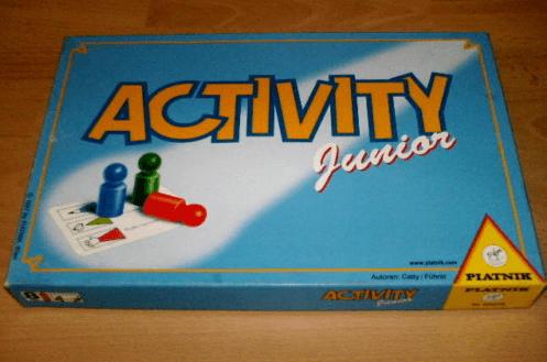 настольная игра Activity Junior