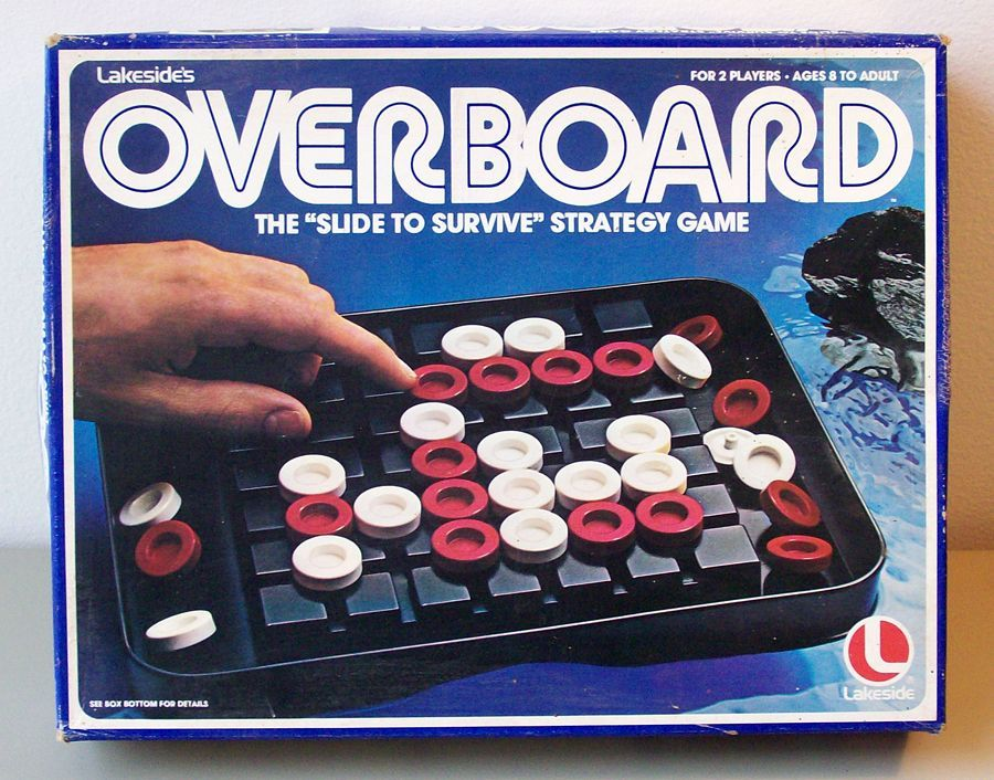 настольная игра Overboard За борт