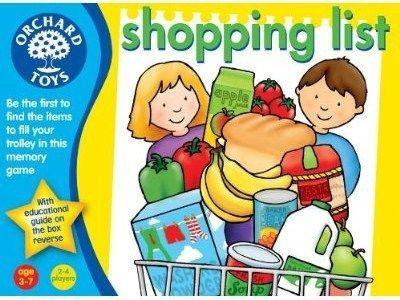 настольная игра Shopping List Список покупок