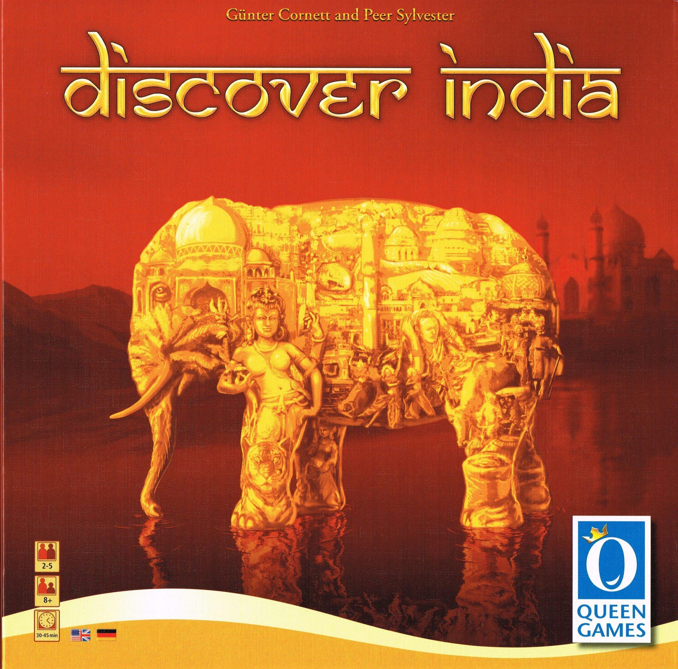 настольная игра Discover India Откройте для себя Индию