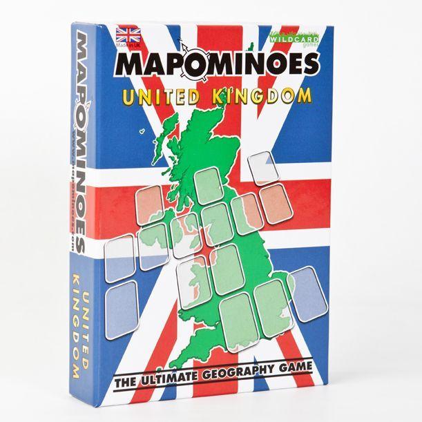 настольная игра Mapominoes: United Kingdom Мапомино: Соединенное Королевство