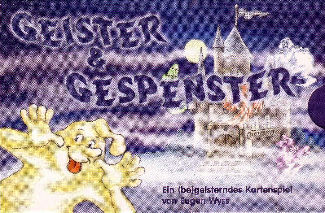 настольная игра Geister & Gespenster Гейстер и Геспенстер