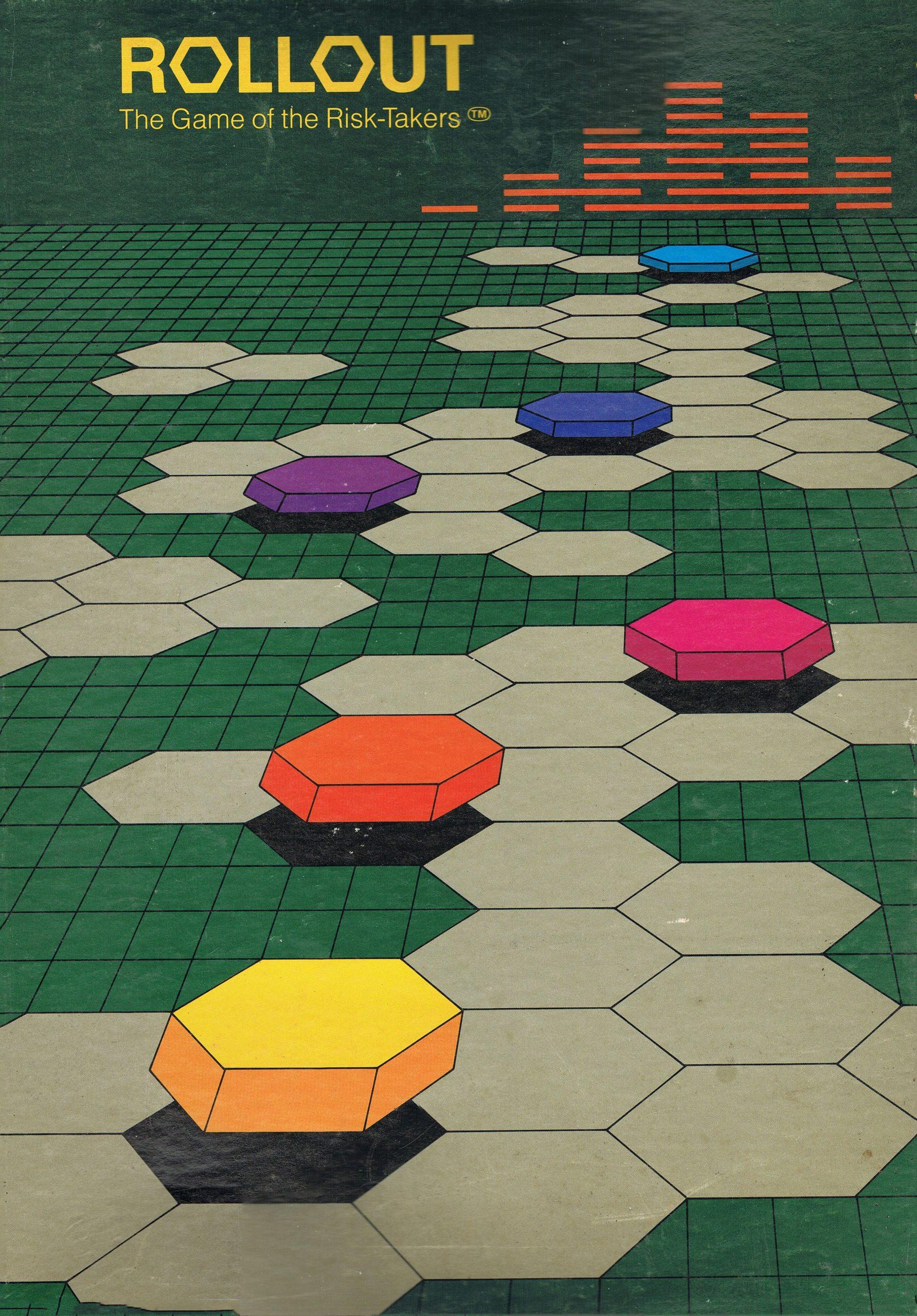 настольная игра Rollout: The Game of the Risk-Takers Внедрение: игра любителей риска