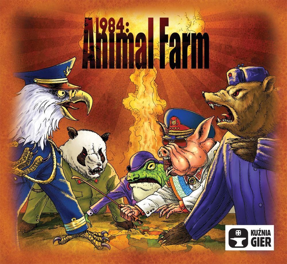 настольная игра 1984: Animal Farm 1984: Животноводческая ферма