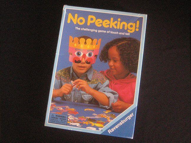 настольная игра No Peeking! Не подглядывать!