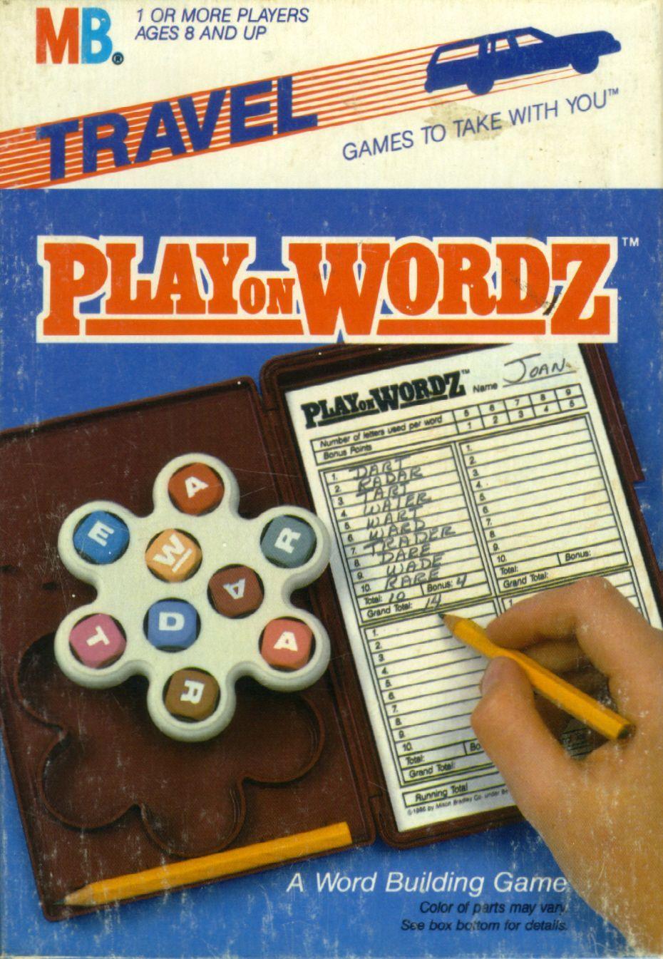 настольная игра Play on Wordz Играть на Wordz