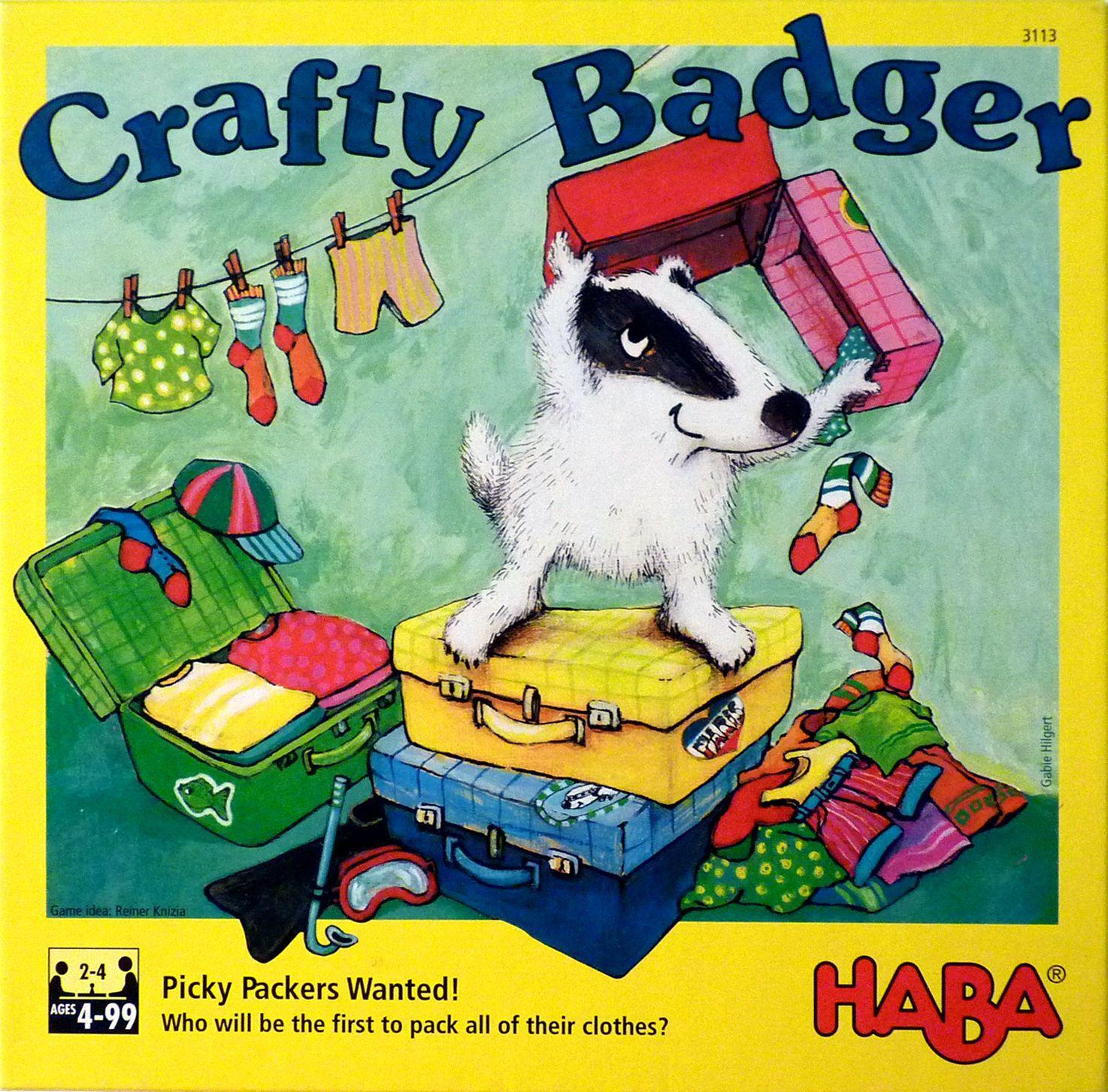 настольная игра Crafty Badger Коварный барсук